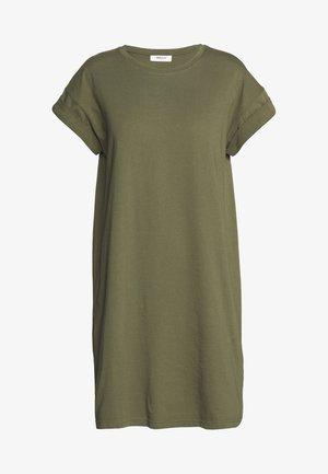ALVIDERA ADDI PLAIN DRESS - Žerzejové šaty - kalamata