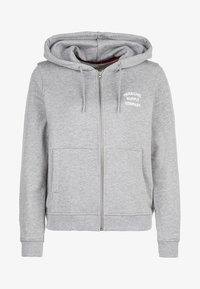 Herschel - veste en sweat zippée - grey - 0