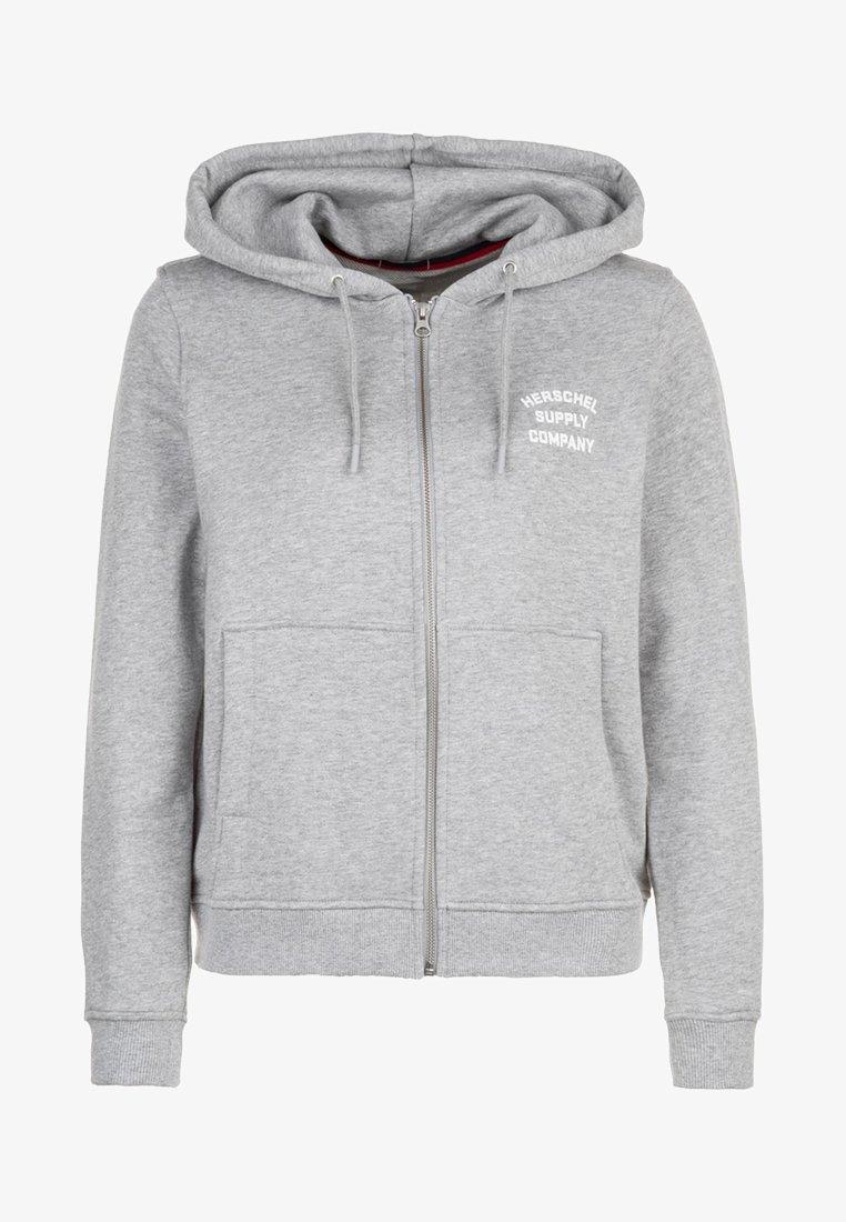 Herschel - veste en sweat zippée - grey