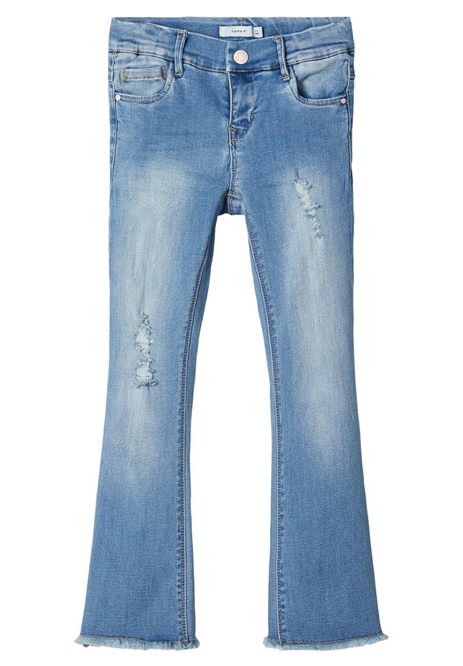 Femme NKFPOLLY DNMTOFIA1314 BOOT 7/8 PANT - Jean bootcut