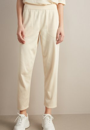 Trousers - crema