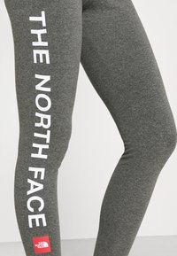 The North Face - SLOGAN - Leggings - Trousers - medium grey heather - 4