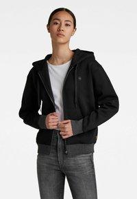 G-Star - PREMIUM CORE - Sweater met rits - black - 1