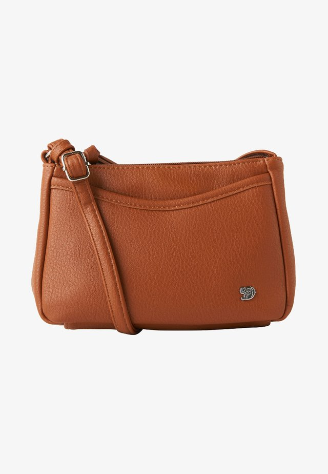 CILIA - Across body bag - cognac