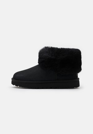 CLASSIC MINI FLUFF - Bottines - black