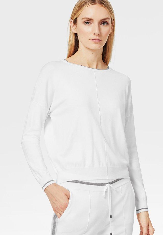 JUNI - Pullover - off-white