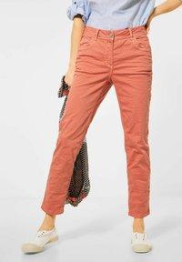 Cecil - Slim fit jeans - orange - 0