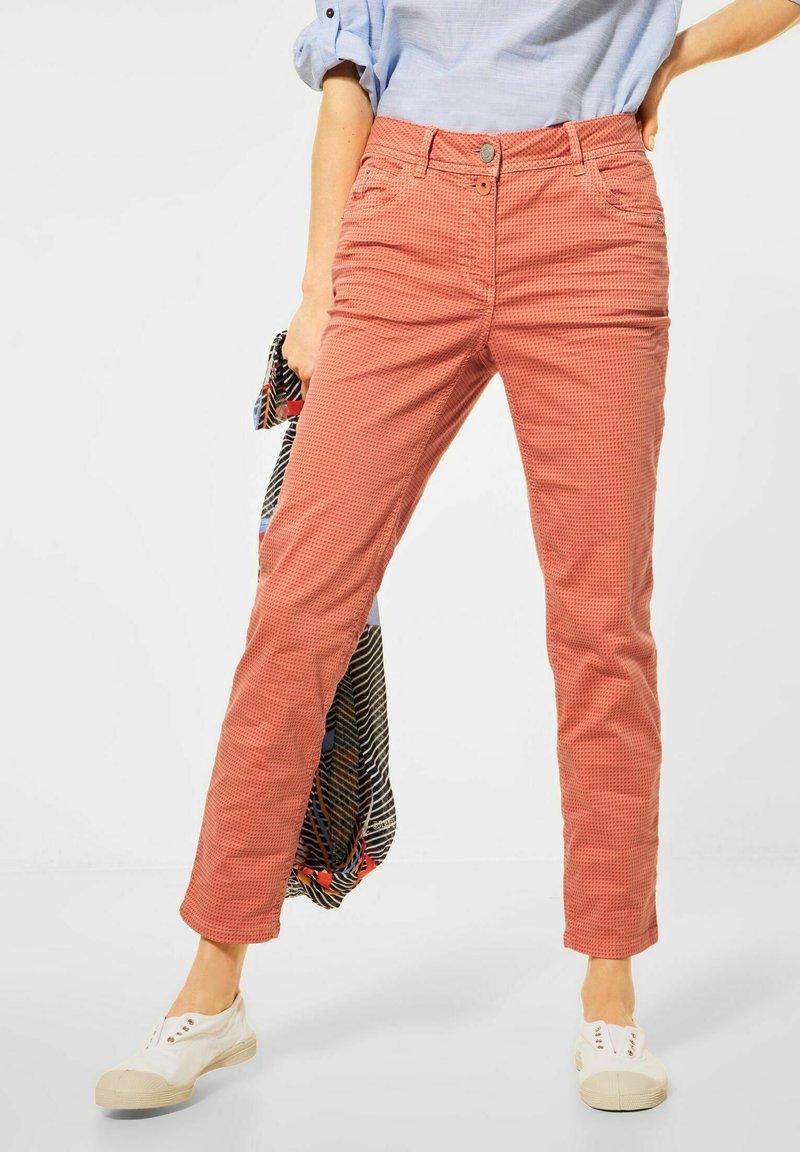 Cecil - Slim fit jeans - orange