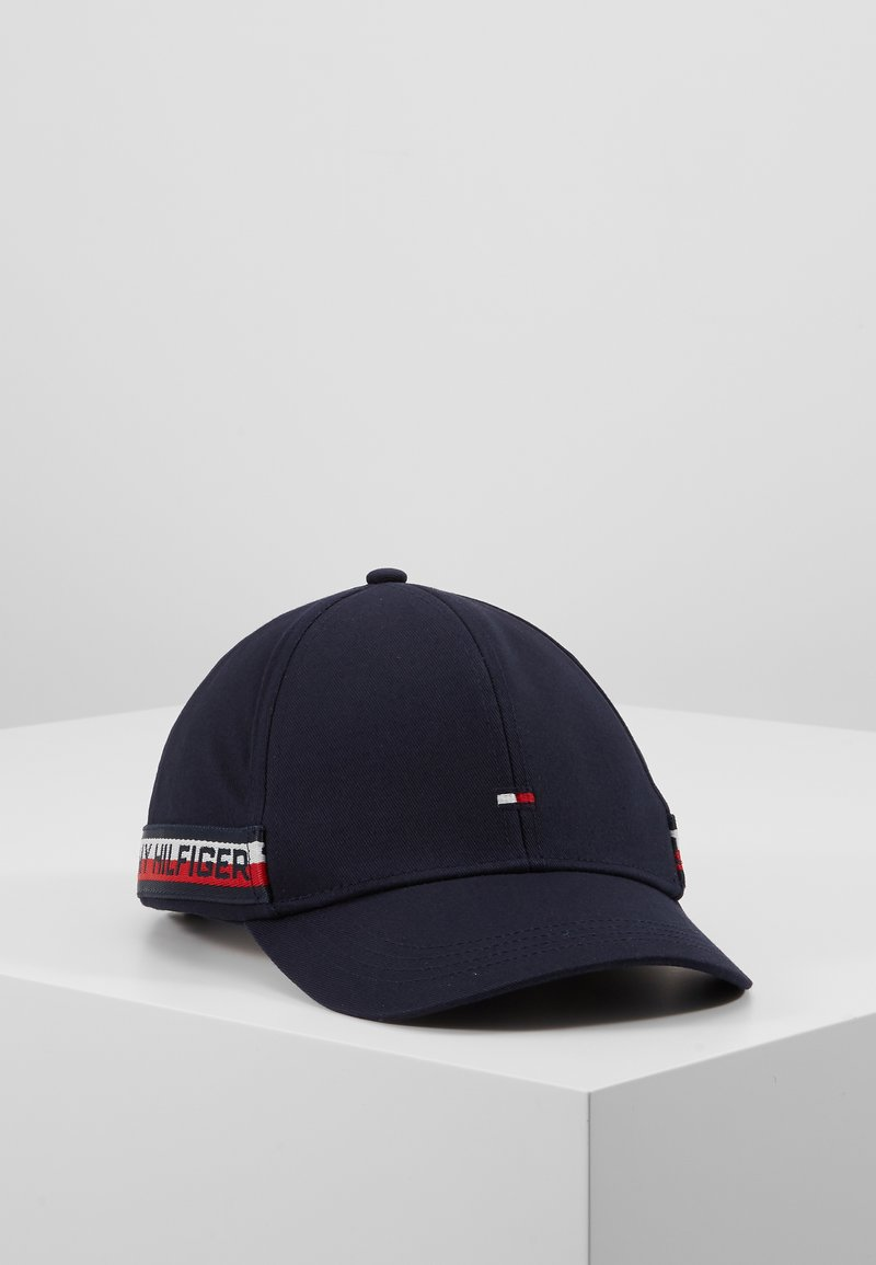 Tommy Hilfiger - CORPORATE LOGO TAPE - Kšiltovka - blue