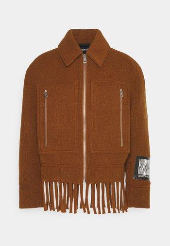 SPORTSJACKET - Summer jacket - caramel