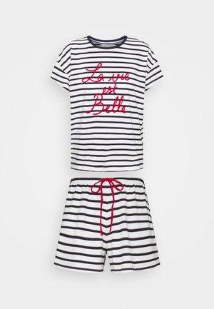 STRIPES - Pyjamas - navy