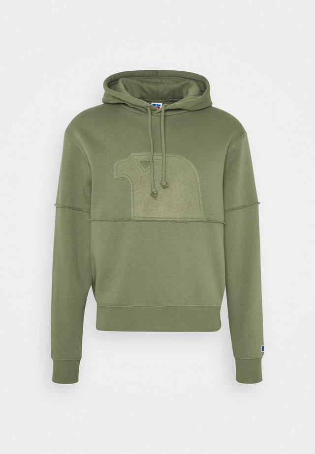 MODERN HOODED UNISEX - Jersey con capucha - four leav clover