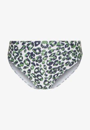 LEOPARD HIGH WAIST BOTTOM - Bikiniunderdel - green