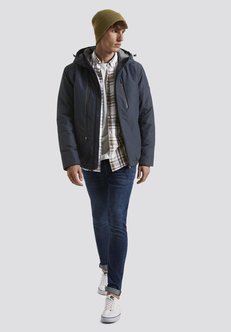TOM TAILOR DENIM - MIT KAPUZE - Light jacket - sky captain blue