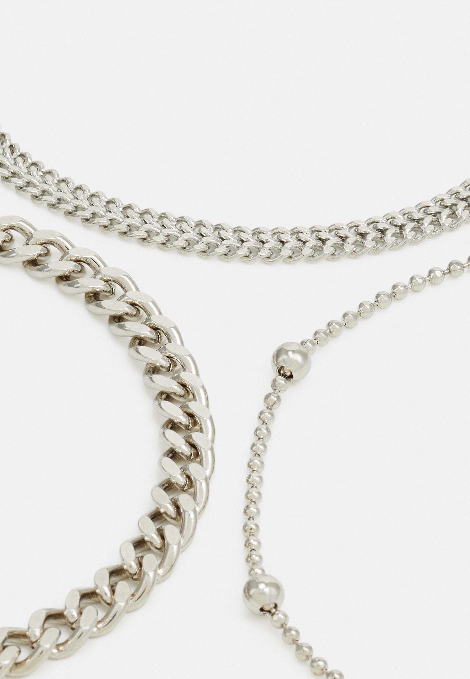 Pieces PCFIBO BRACELET 3 PACK - Armbånd - silver-coloured/sølv qbqmSqaNyewT29Z