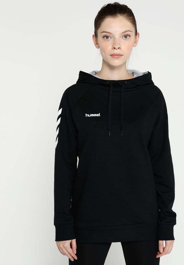 GO HOODIE WOMAN - Sweat à capuche - black