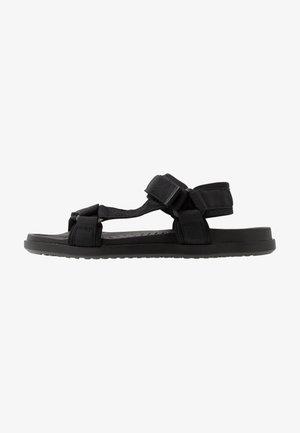 TAKASHI - Walking sandals - black