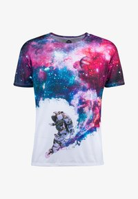 Mr. GUGU & Miss GO - SURFING COSMONAUT - Print T-shirt - white - 4