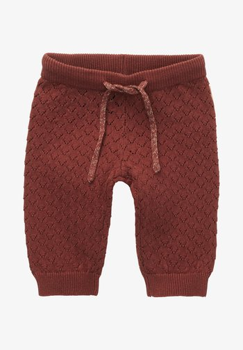 HOSE SEGUIN - Trousers - henna