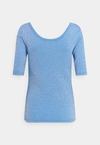 Tommy Hilfiger - SLIM VERTICAL OPEN - Basic T-shirt - blue - 1