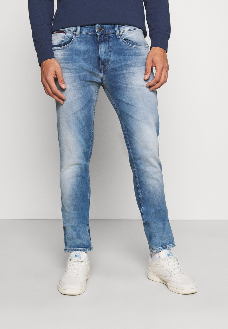 Tommy Jeans - AUSTIN SLIM - Slim fit jeans - wilson light blue stretch