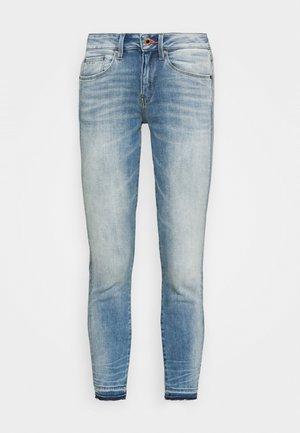 MID SKINNY ANKLE - Jeans Skinny Fit - vintage beryl blue