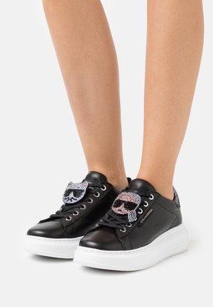 KAPRI IKONIC TWIN LACE - Zapatillas - black