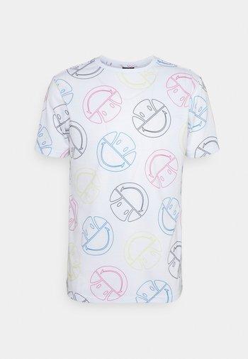 MERILINO TEE - Print T-shirt - white