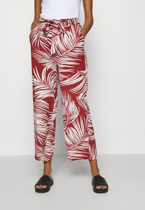 Trousers - burnt henna/palm leaf