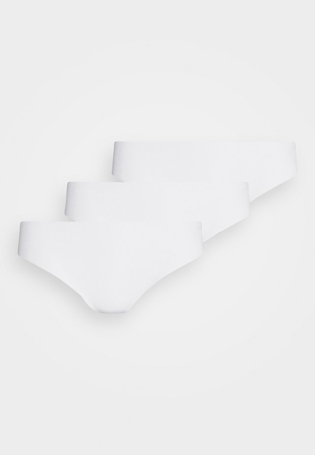 INVISIBLE STRING 3 PACK - Tanga - bright white