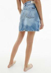 Calvin Klein Jeans - A-line skirt - denim light - 2