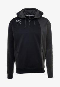 Nike Performance - FC HOODIE - Hoodie - anthracite/black/white - 5