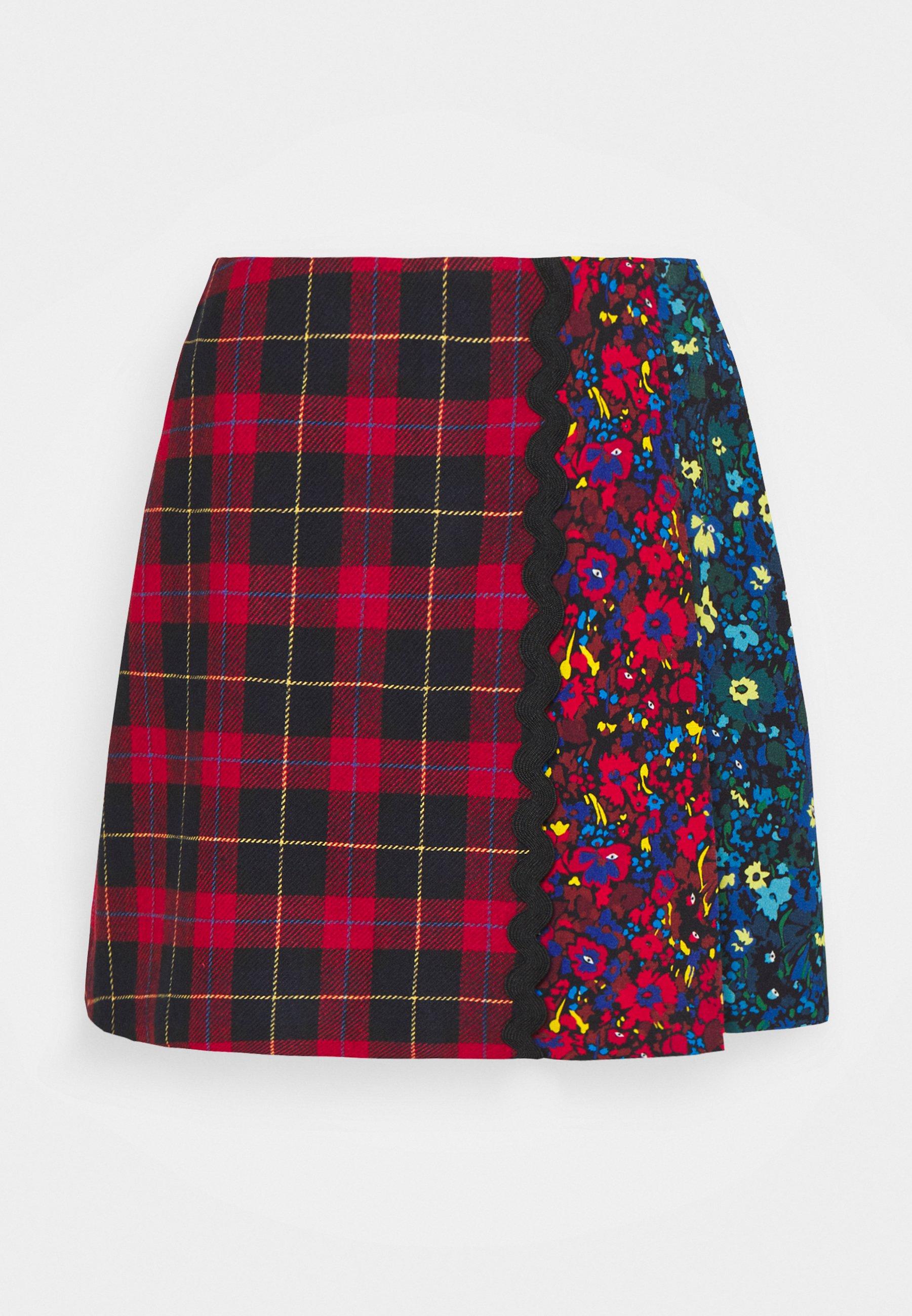 Mujer CHECK SKIRT - Minifalda