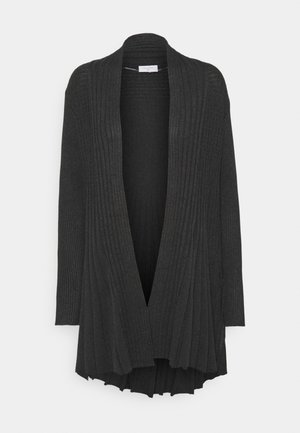 CLAUDISSE CAR - Strikjakke /Cardigans - dark grey
