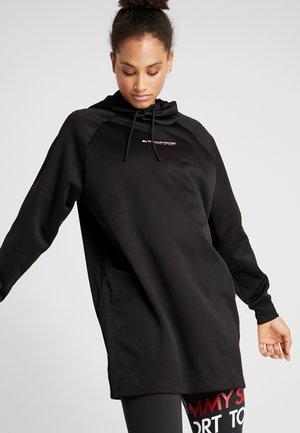 DRESS WITH TAPE - Vestido de deporte - black
