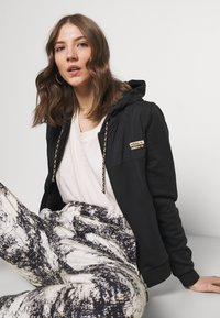 adidas Originals - ZIP HOODIE - Zip-up hoodie - black - 3
