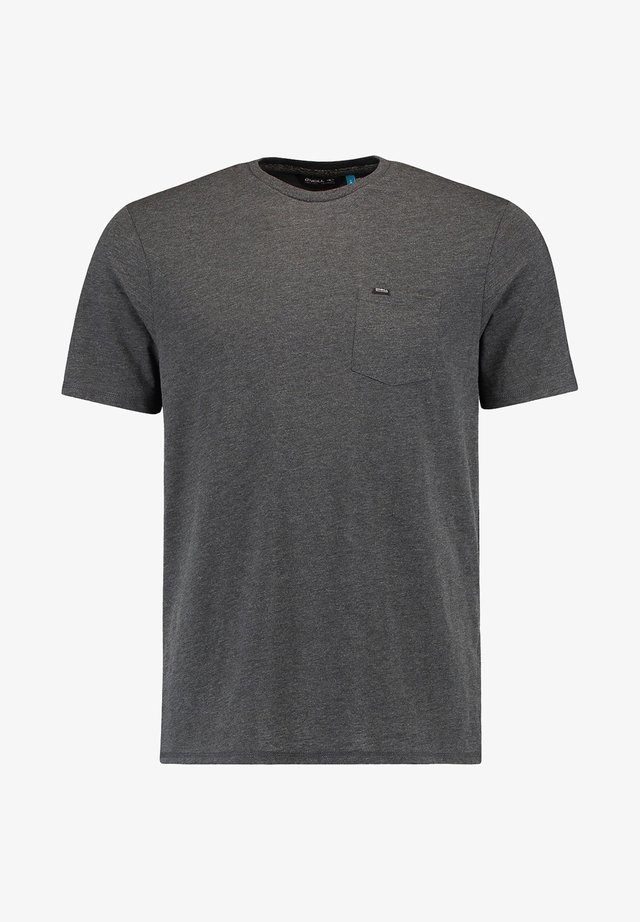 T-shirt basique - dark grey melee