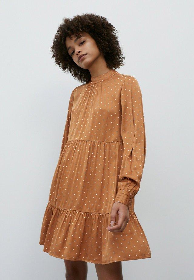 GISELLE - Day dress - orange