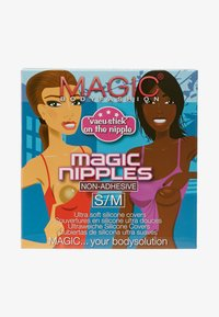 MAGIC Bodyfashion - MAGIC NIPPLES - Reggiseno con spalline regolabili - mocha - 1