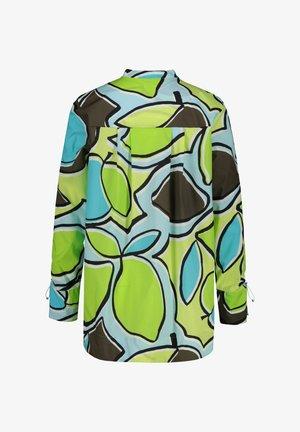 MARC CAIN DAMEN BLUSE LANGARM - Button-down blouse - aqua (53)