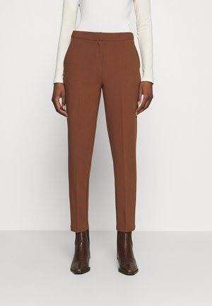 FLORE PANTS - Trousers - cacoa brown