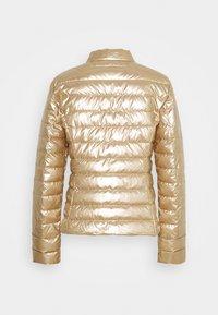 Patrizia Pepe - PIUMINO JACKET - Winter jacket - gold/mastic - 1