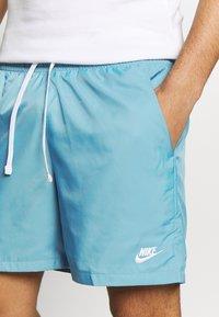 Nike Sportswear - FLOW - Shorts - cerulean/white - 4