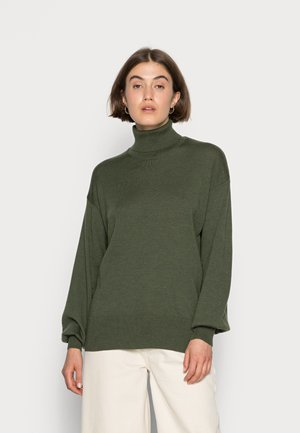 KATALINA - Sweter - macchia green
