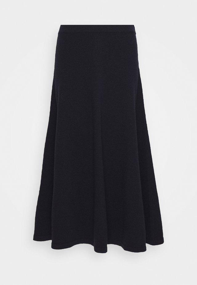 WOMEN´S SKIRT - A-line skirt - dark night