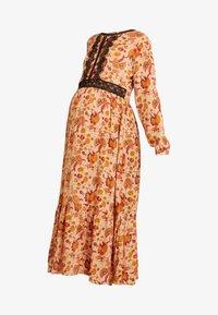 MAMALICIOUS - MLFLORAL DRESS - Vestido largo - sesame - 4