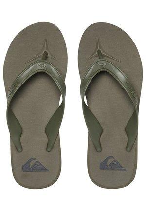 T-bar sandals - green/green/green