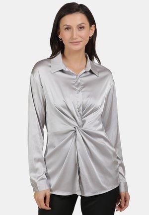 Button-down blouse - silver