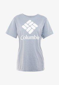 Columbia - PARK™ RELAXED TEE - Print T-shirt - treadwinds grey heather - 3