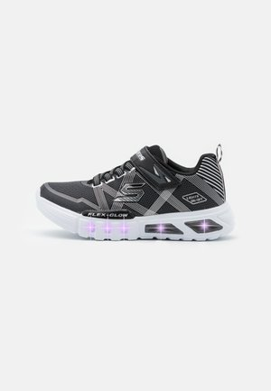 FLEX GLOW - Trainers - black/charcoal/silver